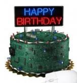 کیک تولد الکترونیکی
