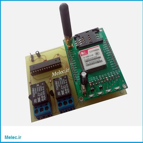 کنترل لوازم برقی با پیامک