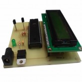 دماسنج دو سنسوره با DS18B20 و میکروکنترلر AVR