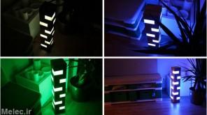ساخت لامپ LED رنگی تزئینی