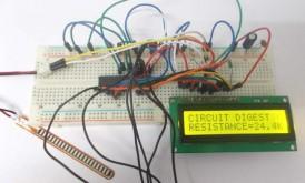 راه اندازی سنسور خمشی (Flex Sensor) با میکروکنترلر AVR