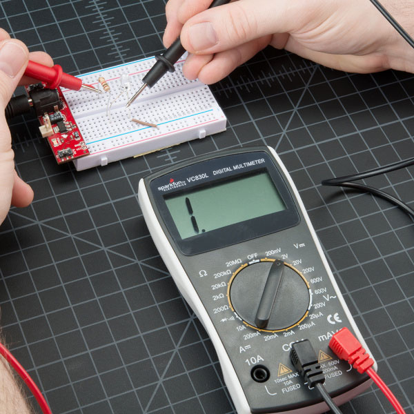 انداره گیری ولتاژ خارج از محدوده یا Overload در مولتی متر