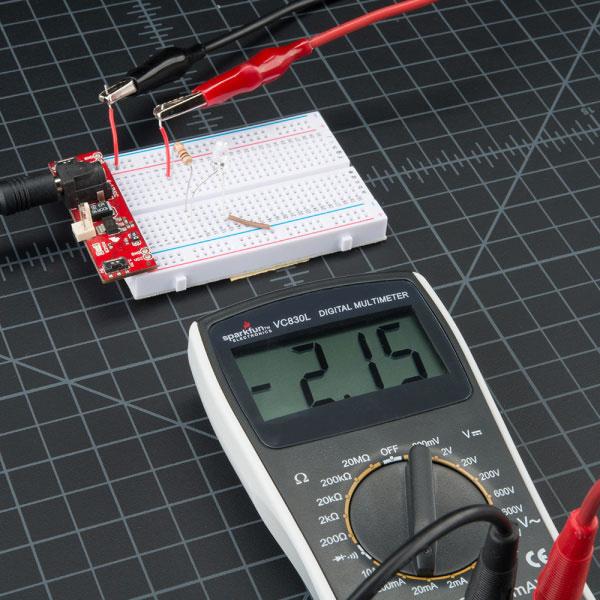 اندازهگیری جریان با مولتی متر