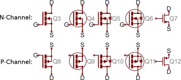 ترانزیستور اثر میدان (MOSFET)