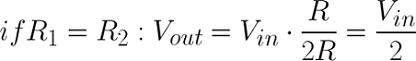معادله تقسیم کننده های ولتاژ