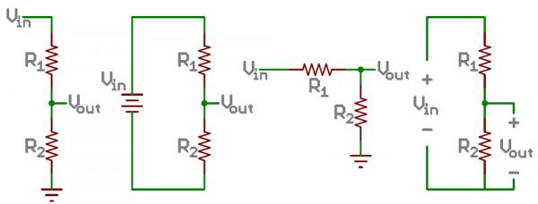 تقسیمکننده های ولتاژ