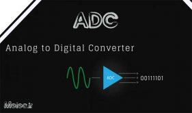 واحد ADC میکروکنترلر stm32f4xx