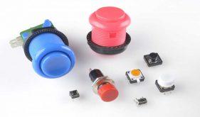 کلید دکمه فشاری سوئیچ ها - انواع کلید الکترونیکی
