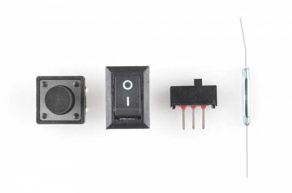 سوئیچ ها - انواع کلید الکترونیکی