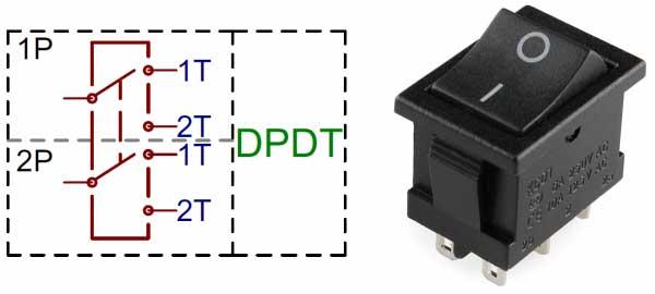 کلید DPDT