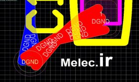 ابزار قطره چکان (Teardrops) طراحی PCB در آلتیوم دیزاینر
