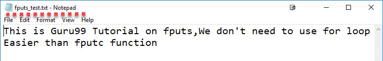 نوشتن در یک فایل در زبان C