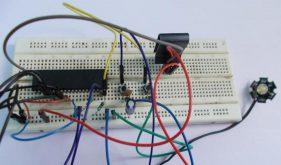 مدار دیمر پاور LED با استفاده از میکروکنترلر ATmega32