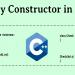 تابع سازنده کپی در ++C