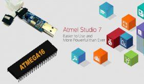 آموزش پروگرم کردن میکروکنترلر AVR Atmega16، با استفاده از USBASP پروگرمر و Atmel Studio 7.0