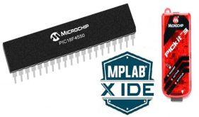 کار با میکروکنترلر PIC18F4550 و MPLABX IDE