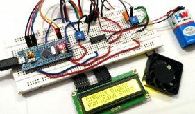 مدولاسیون عرض پالس در میکروکنترلر STM32F103C8: کنترل سرعت فن DC